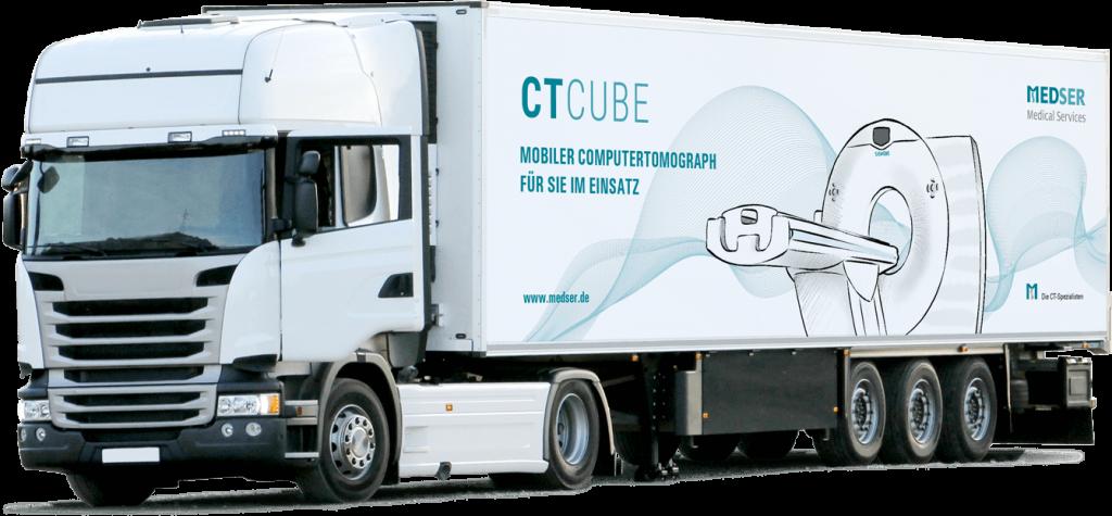 MEDSER mobile ct truck